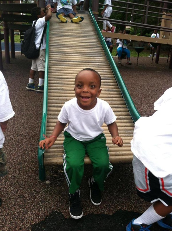 BOY ON SLIDE 2